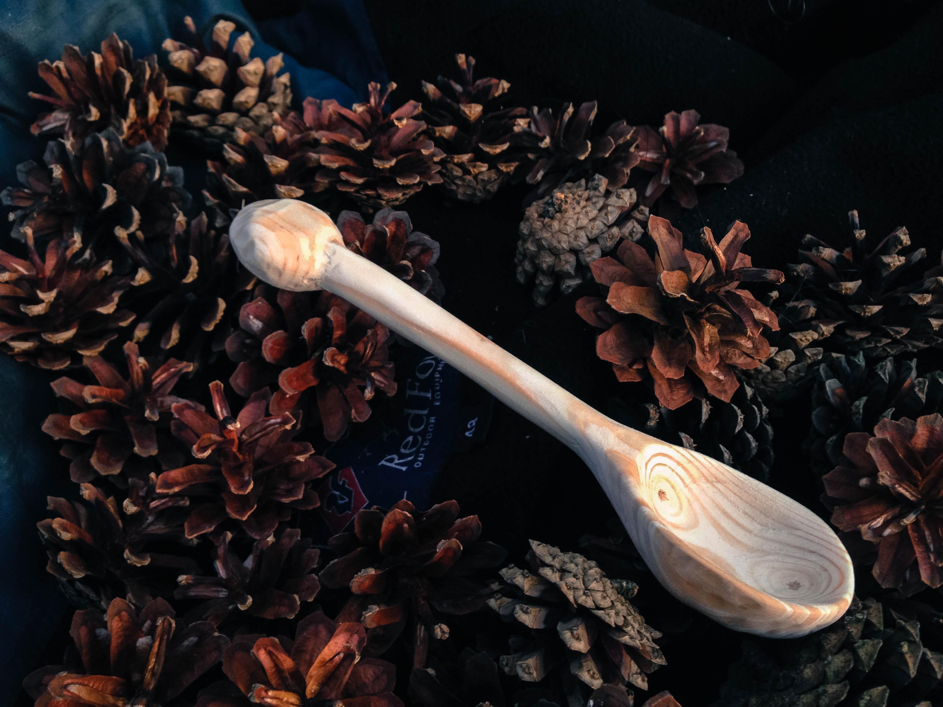 Как сделать деревянную ложку