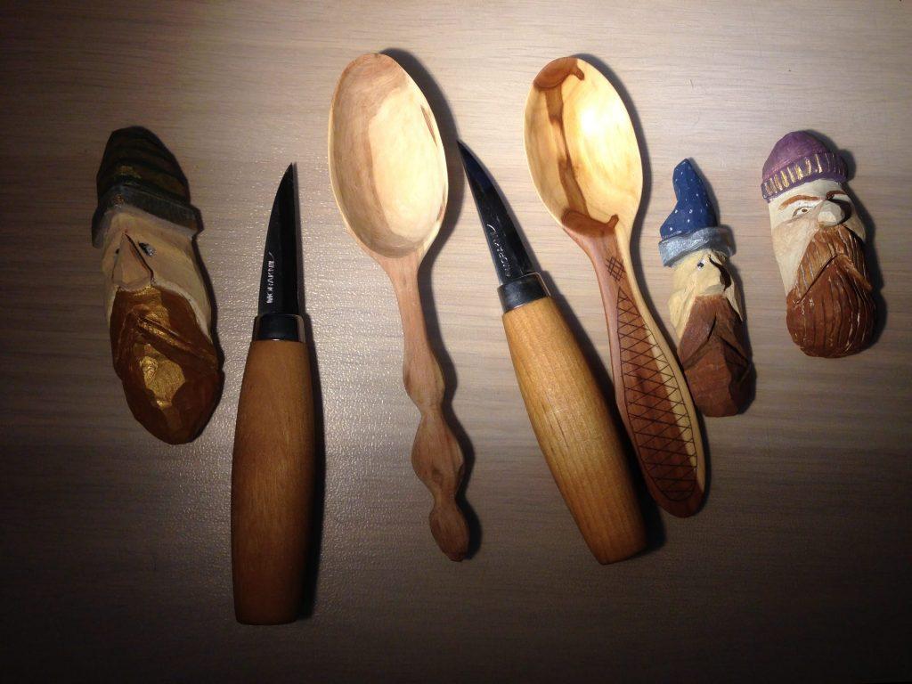 Morakniv Wood Carving 120 и 122